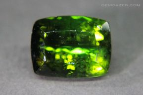 Verdelite Tourmaline, faceted, Brazil.  12.12 carats.  ** SOLD **